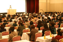 11月14日に開催した産直交流集会には500人が参加しました。